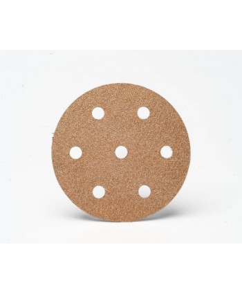 Carbide Abrasive Disc for random orbit sander - 7 Holes