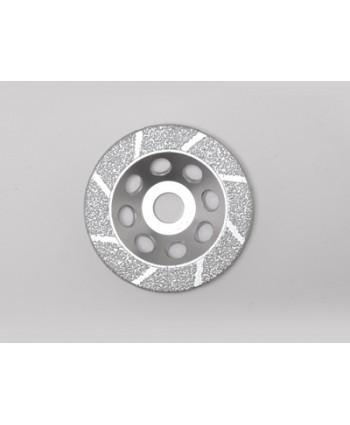 Vacuum Braised Diamond Cup Grinding Wheel